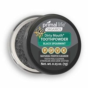 organic charcoal toothpowder