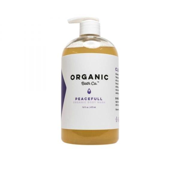 organic body wash for men